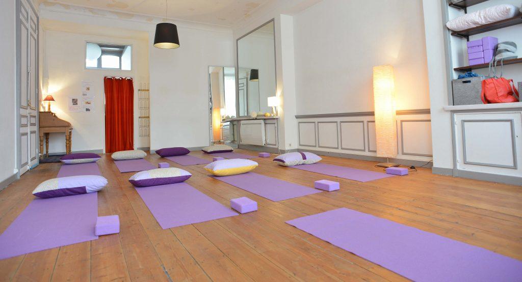 Salle de l'Atelier de Yoga Lille Vauban
