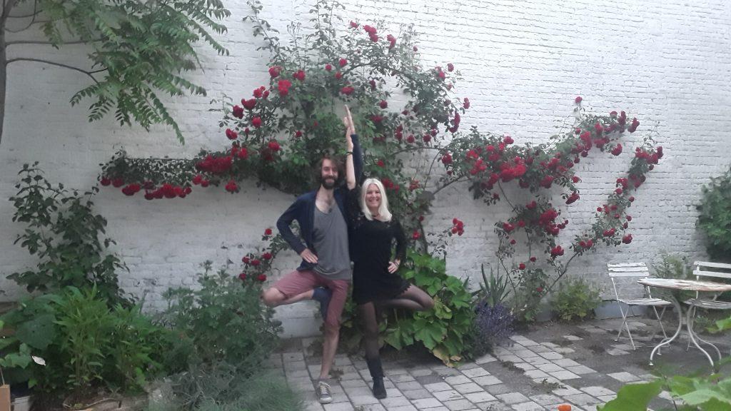Jardin du studio de Yoga Lille Vauban